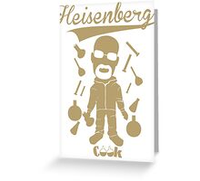 "Walter White  ""Cook"" Funny (Vintage)  Greeting Card"