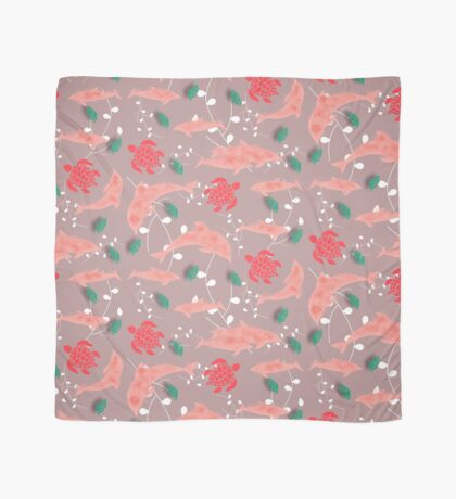 Dolphin pink Scarf