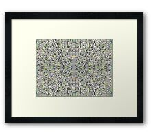 Paper Airplane 87 Framed Print
