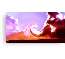 skywave Canvas Print