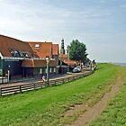 Hindeloopen - Fryslan - Netherlands by Arie Koene