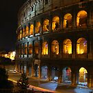 Roman Colosseum by Night by John Sternig