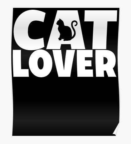 Cat Lover Poster