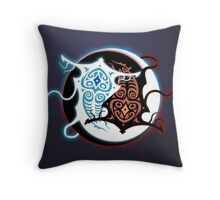 Rin Vang (Raava x Vaatu - Yin Yang) Throw Pillow