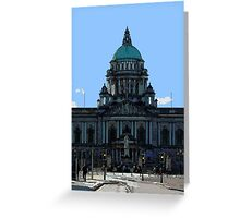 Belfast City Hall Greeting Card