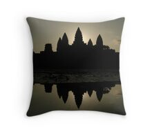Angkor Wat Throw Pillow