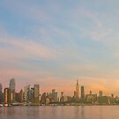 new york city skyline manhattan mid-town usa by Noel Moore Up The Banner Photography