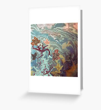 Willow World.  Greeting Card