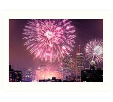 Boston, MA July 4th Pops Fireworks Spectacular! Art Print