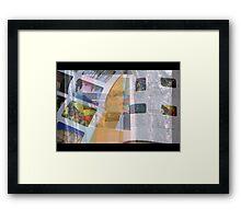 Published Work Framed Print