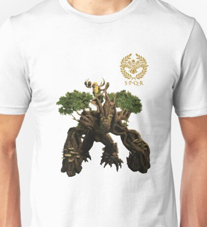 Smite - Sylvanus, Keeper of the Wild Gaming T-Shirt Unisex T-Shirt