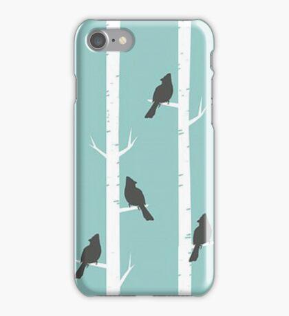Cardinal in Birch iPhone Case/Skin