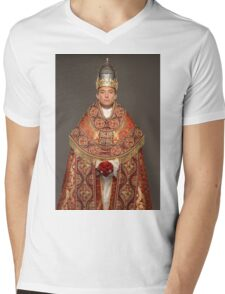 Pope young Mens V-Neck T-Shirt