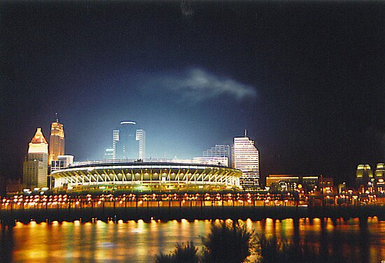 Cincinnati River Front by frogster