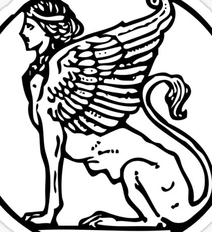 The Lamassu Sticker