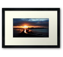Island Hill Sunrise Framed Print