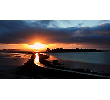 Island Hill Sunrise Photographic Print
