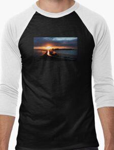 Island Hill Sunrise Men's Baseball ¾ T-Shirt