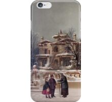 American Winter Scene iPhone Case/Skin