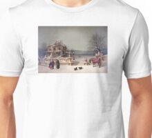 American Winter Scene Unisex T-Shirt