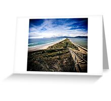 The Neck, Bruny Island Greeting Card
