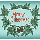 Vintage Merry Christmas Cards by TsipiLevin