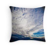 Cloudscape #001 Throw Pillow