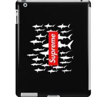 Supreme sharks BLACK iPad Case/Skin