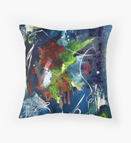Power In The Rapture Throw Pillow