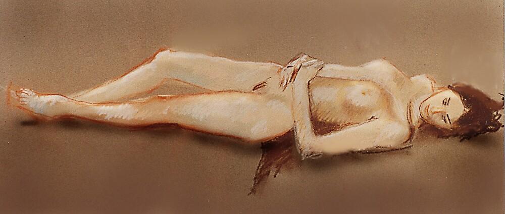 Reclining nude by micnoz