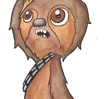 SlothBacca by kpcomix