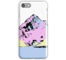 Abstract Mountain iPhone Case/Skin
