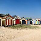 Chelsea Beach Huts by desertman