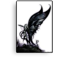 bog fairy by Jesse Lindsay 2007 Canvas Print