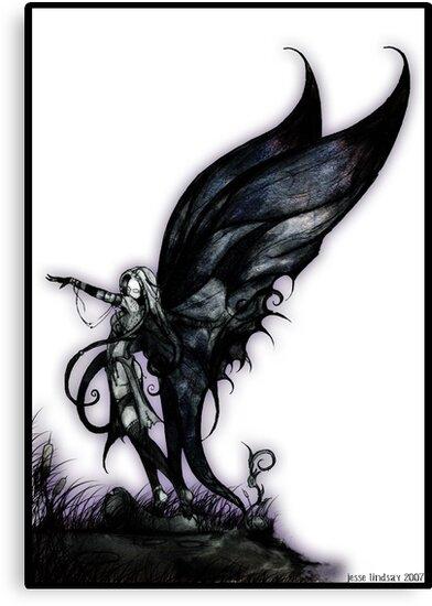 bog fairy by Jesse Lindsay 2007 by jesse lindsay