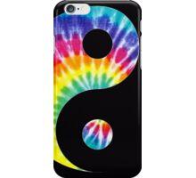 Tie Dye Yin Yang iPhone Case/Skin