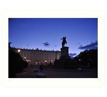 Royal Palace Art Print