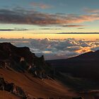 Haleakala Crater Sunrise by Geoffrey Chang