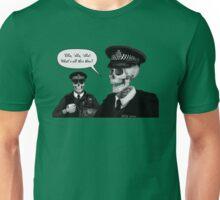 Skeleton Police (Green) Unisex T-Shirt