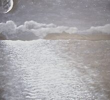 Moonlit ocean by jims
