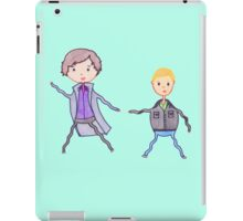 John and Sherlock on the Run iPad Case/Skin