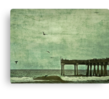 Stay (Wasting Time) Canvas Print