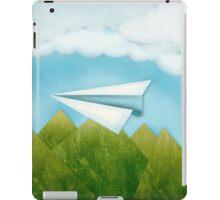 Paper AIrplane 46 iPad Case/Skin