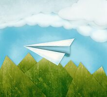 Paper AIrplane 46 by YoPedro