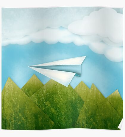 Paper AIrplane 46 Poster