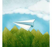 Paper AIrplane 46 Photographic Print