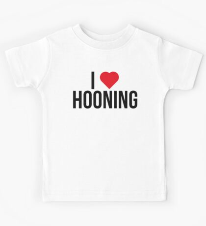 I <3 Hooning Kids Tee