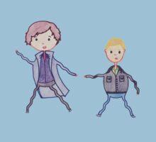 John and Sherlock on the Run by Elly190712