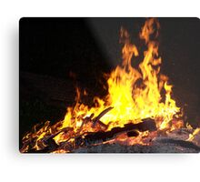 Stock for Firey Visions Metal Print