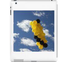 Yellow Black Ballons iPad Case/Skin